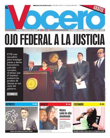 2d5cb53f3f Edición 28 de Agosto 2013 by El Vocero de Puerto Rico - issuu