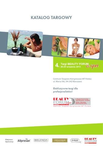 01f479cf0211f9 Katalog targowy BEAUTY FORUM & SPA 2013 by Kamila Jadwicka - issuu
