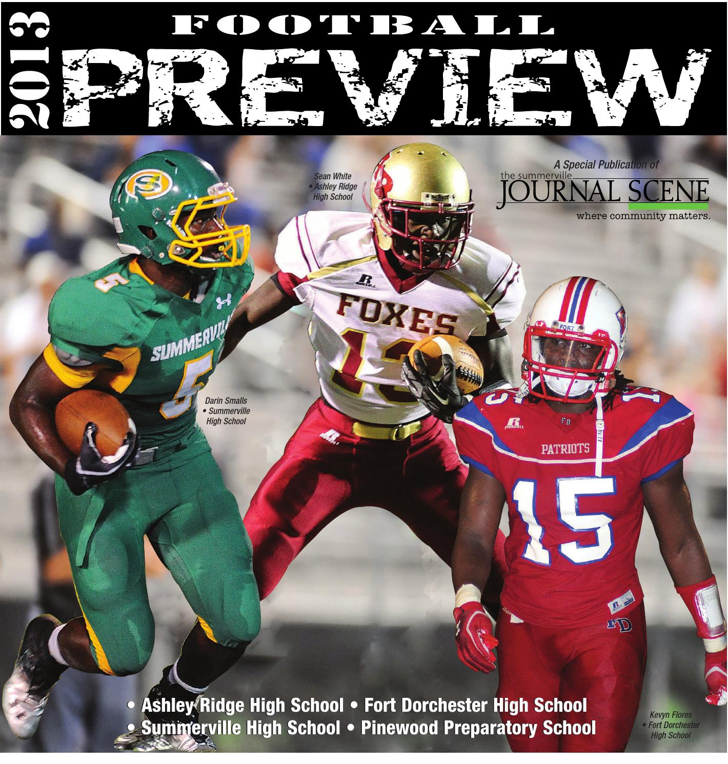 Sj Football Preview 2013 By The Moultrie News Issuu