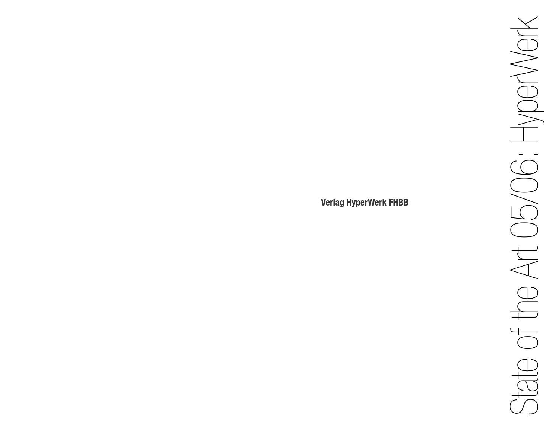 HyperBible 2006 by HyperWerk - issuu