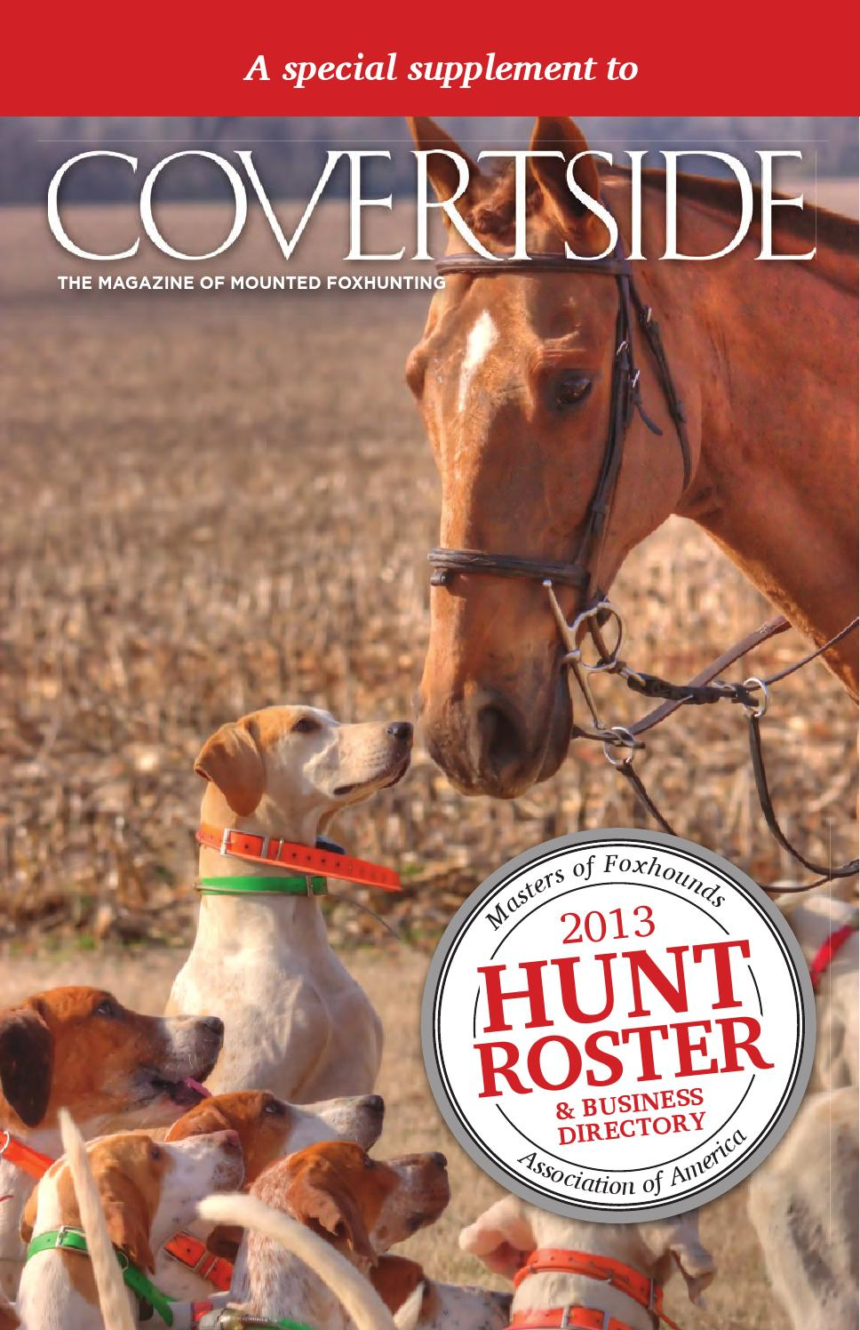 Hunt Roster 2013 by Emily Esterson issuu