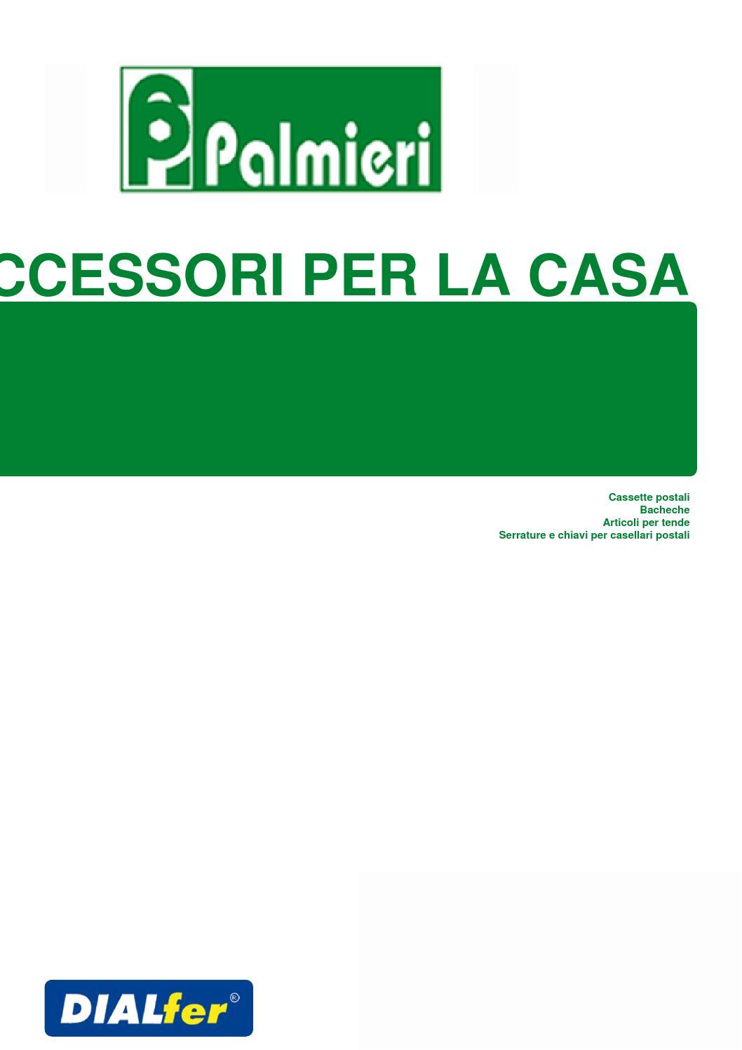 Accessori per la casa catalogo palmieri by maurizio casu for Accessori per la casa