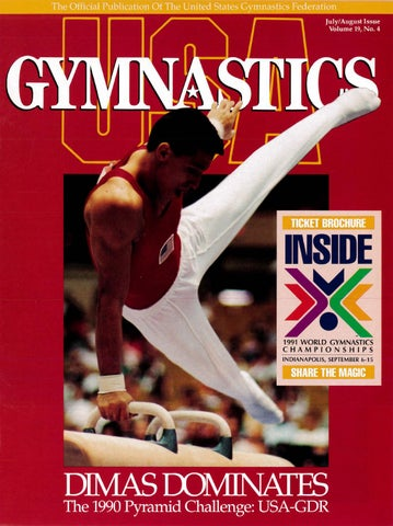 USA Gymnastics - July/August 1990 by USA Gymnastics - issuu