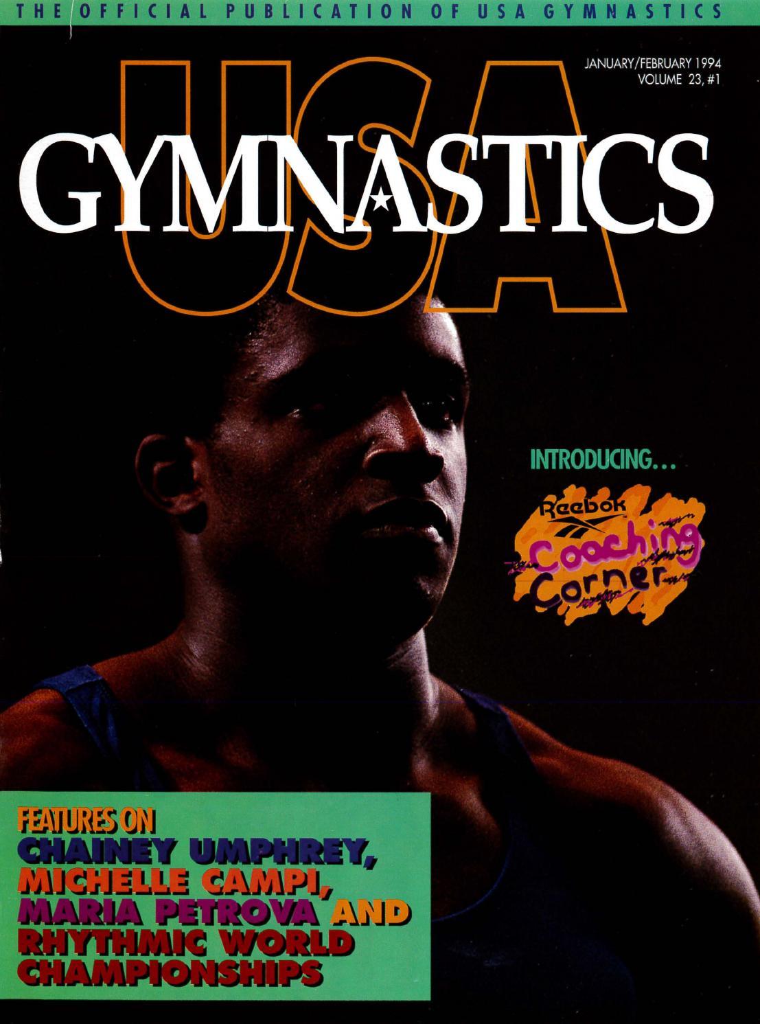 brand new d427b f68a6 USA Gymnastics - January February 1994