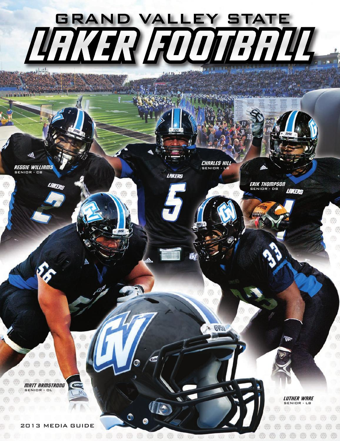 2013 Football Media Guide by Grand Valley State Lakers - issuu ca9fe5c5bc24