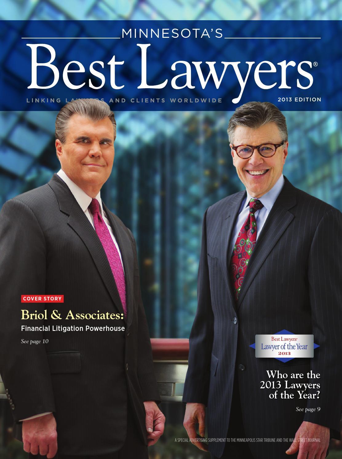 Minnesota's Best Lawyers 2013
