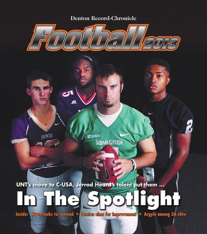 23c067e6ce1 Football 2013 by Larry McBride - issuu