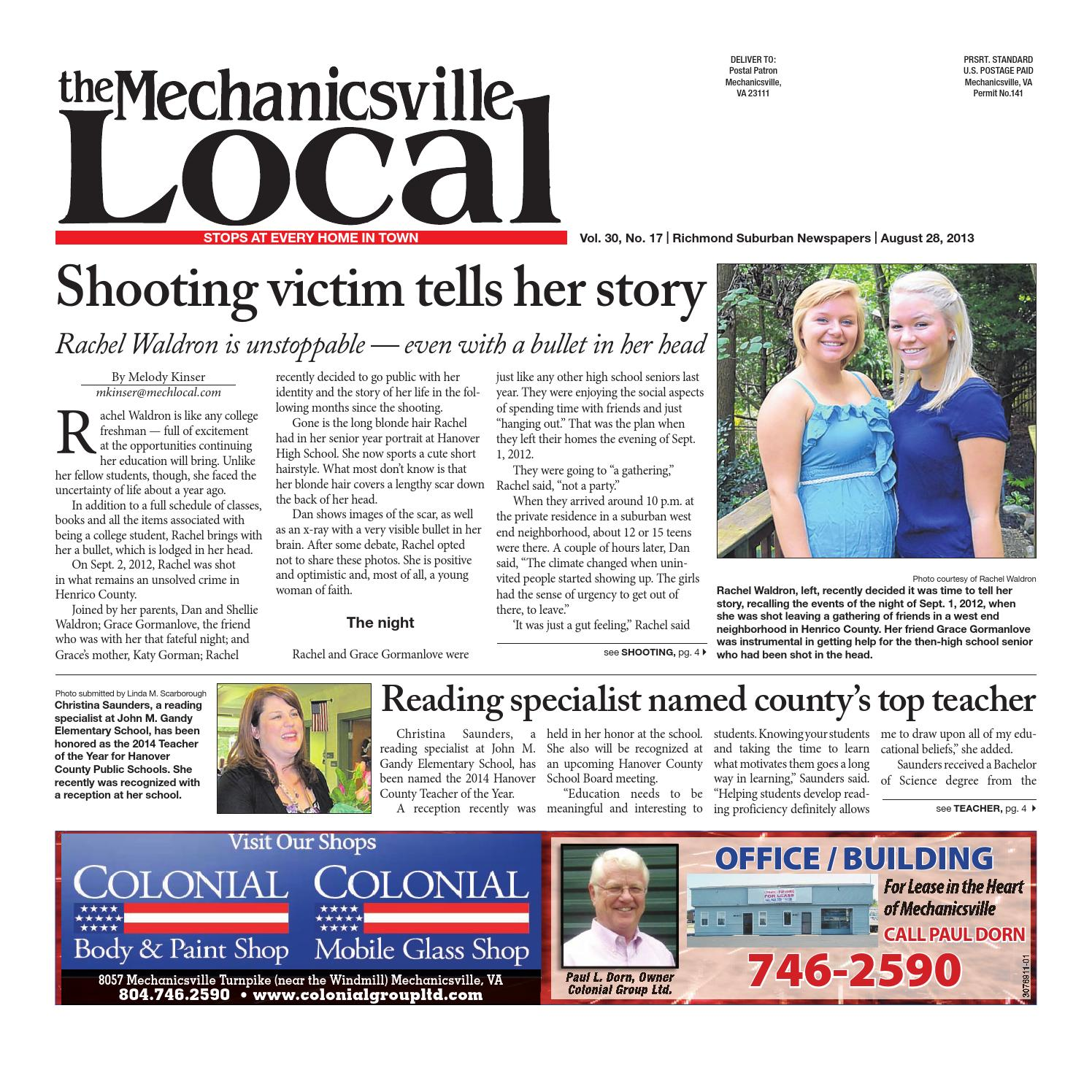 08/28/2013 by The Mechanicsville Local - issuu