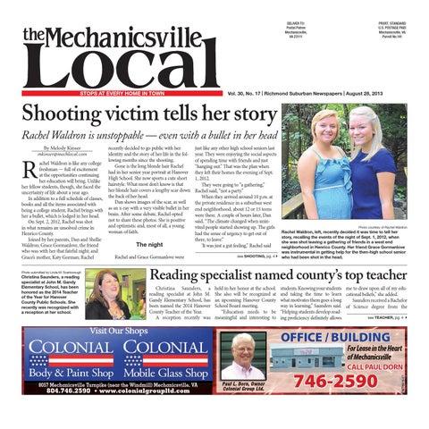 1d72672d7b 08 28 2013 by The Mechanicsville Local - issuu