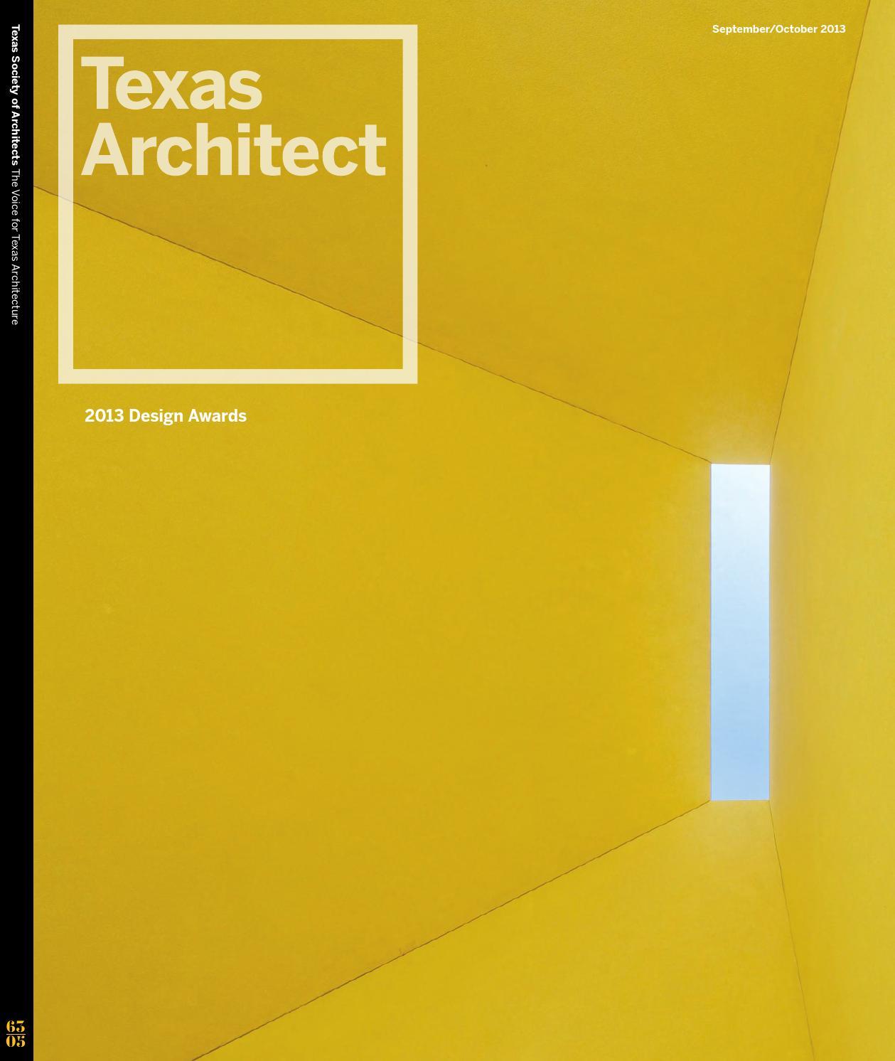 Texas Architect September/October 2013: Design Awards by Texas ...