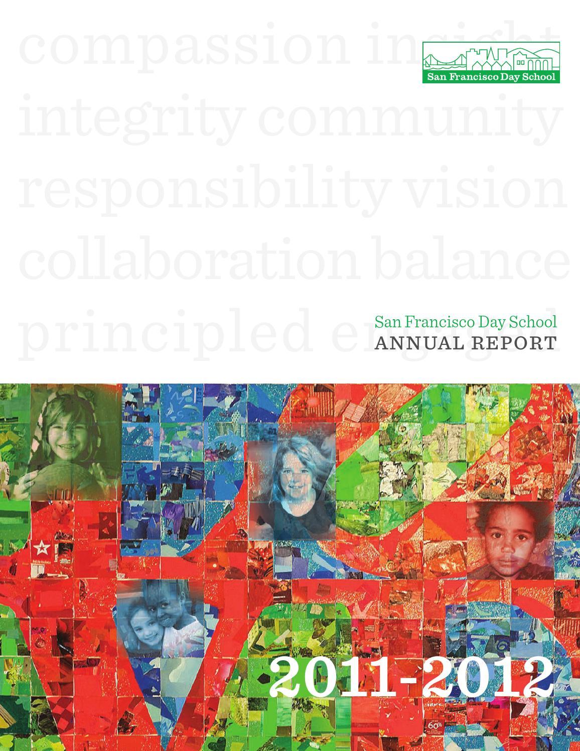 Annualreport2011 12 finallr by San Francisco Day School - issuu