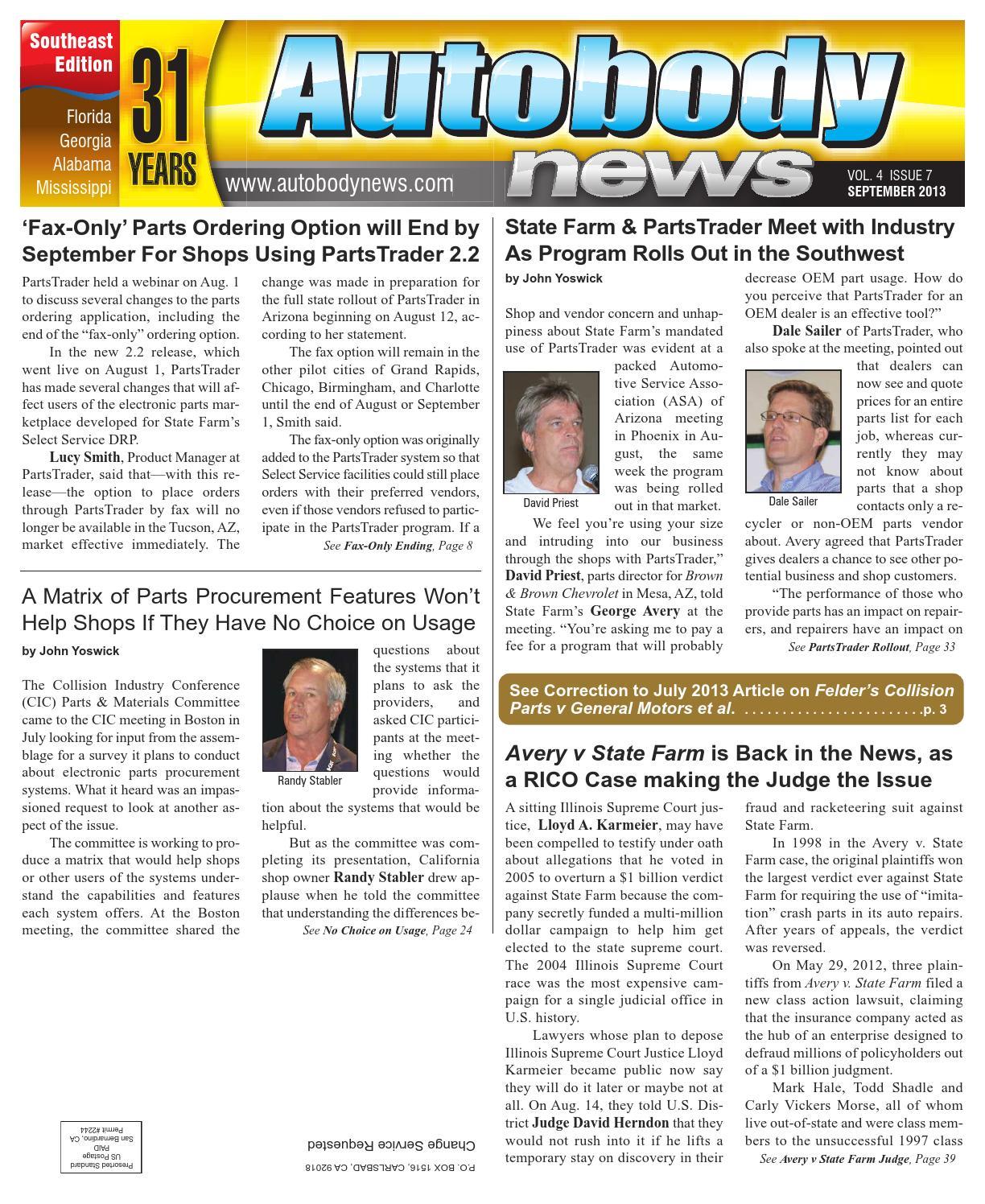 Se 0913 issue web by Autobody News - issuu