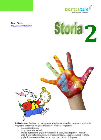 Classe 2 Storia By Piera Civello Issuu