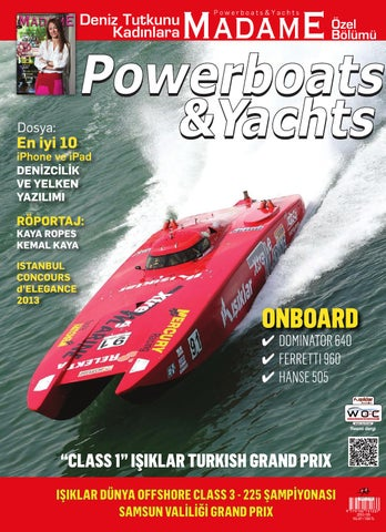 205a9aa52d7ca POWERBOATS&YACHTS AUGUST 2013 by Ferhat Gedik - issuu