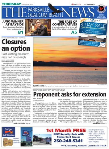 Parksville Qualicum Beach News, August 29, 2013