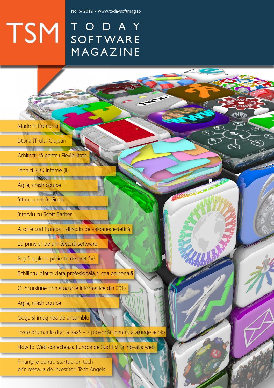 Tsm 6 2012 ro by Today Software Magazine - issuu