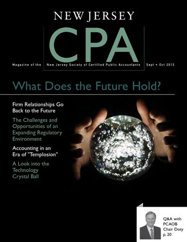 New jersey cpa septemberoctober 2013 by new jersey society of page 1 fandeluxe Choice Image