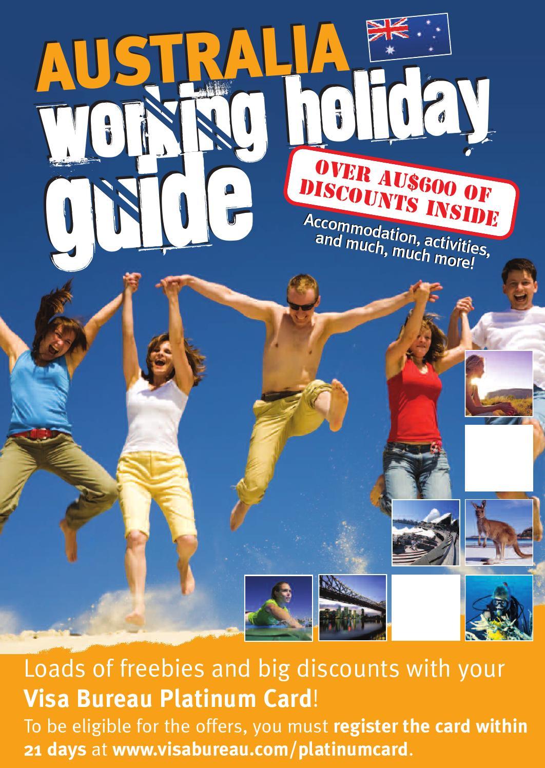 visa bureau australia working holiday guide by domvb issuu. Black Bedroom Furniture Sets. Home Design Ideas