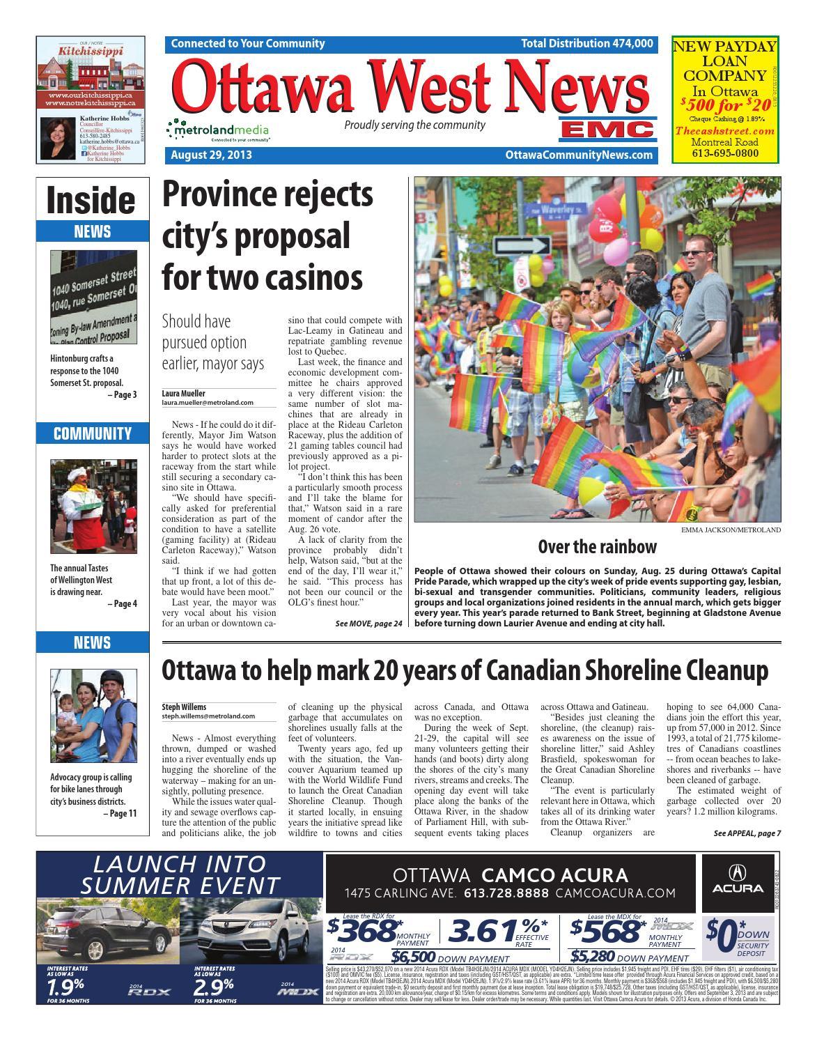 1c8578a480b Ottawawest082913 by Metroland East - Ottawa West News - issuu