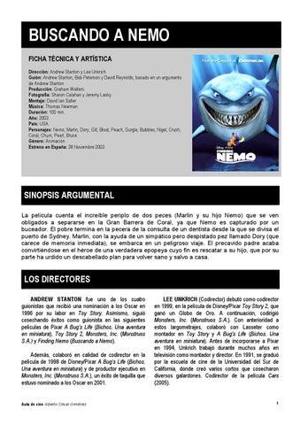 Buscando a nemo cineparaeducar by Javier Luna - issuu