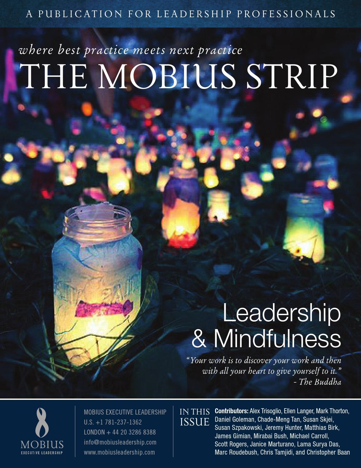 Leadership & Mindfulness   The Mobius Strip by Mobius Executive Leadership  - issuu