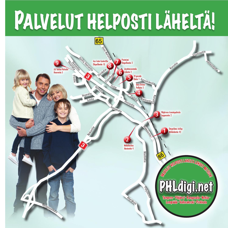 Palvelut helposti läheltä 8/2013 - Ylöjärvi by Manset Oy - Issuu