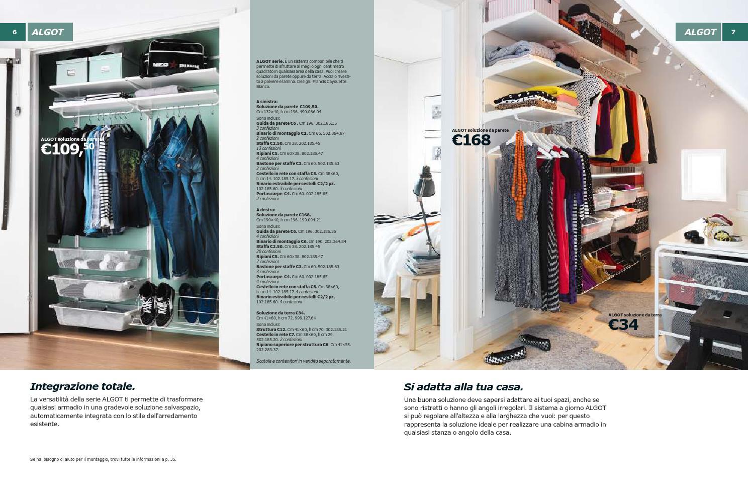 Cabina Armadio Ikea Algot.Ikea 31gen By Fabrizio Volante Issuu