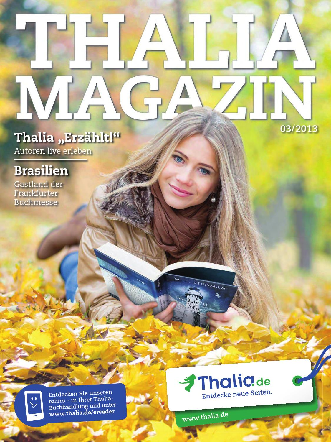 Thalia Magazin 03 2013 By Buch De Internetstores Ag Issuu