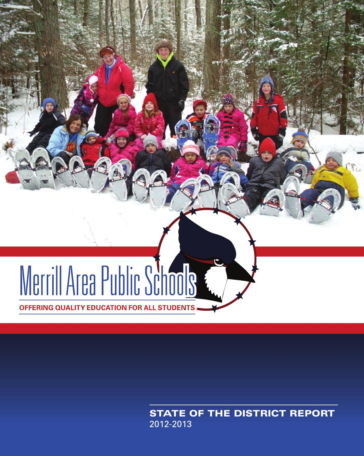 MAPS State Of The District By Donovan Group Issuu - Maps k12 wi us pages merrill area