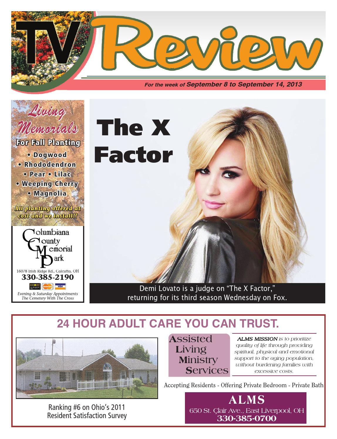 TV Review 9-8-13