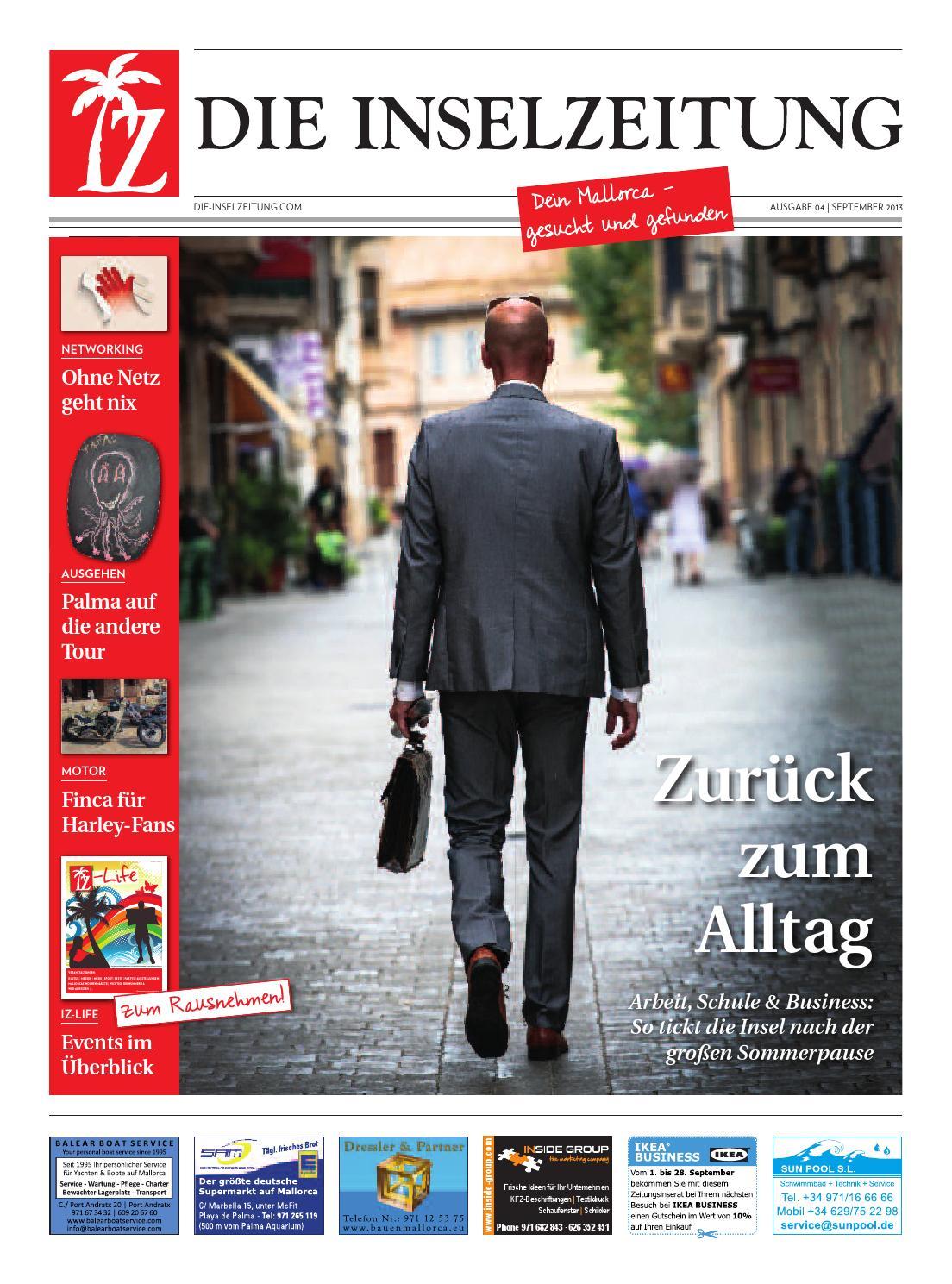 Iz 0913 by Die Inselzeitung Mallorca online - issuu