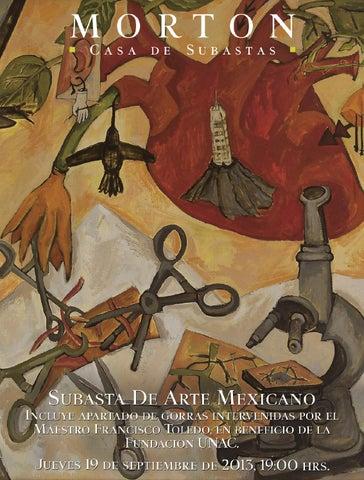 Catálogo Subasta de Arte Mexicano by Morton Subastas - issuu