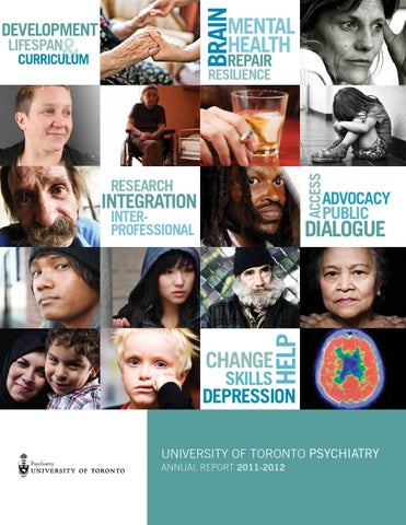 Department Of Psychiatry Annual Report 2012 13 By Psychweb Issuu