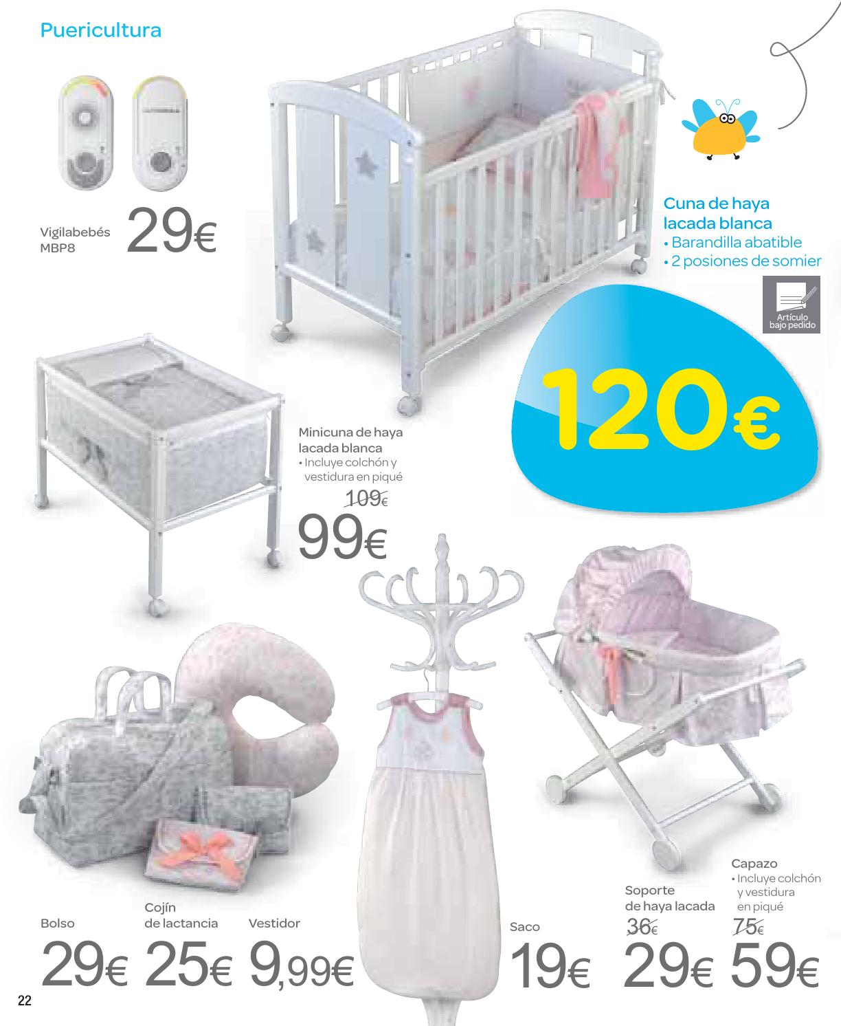Colchon carrefour perfect catalogo carrefour y menaje by - Protector cuna carrefour ...