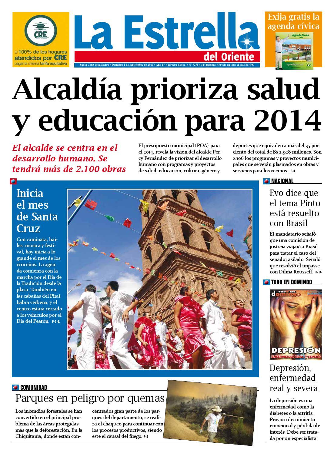 Edicion 01 09 2013 by La estrella del oriente - issuu