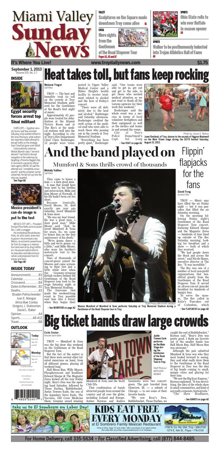 156acc5b5e2c4 Miami Valley Sunday News by I-75 Newspaper Group - issuu