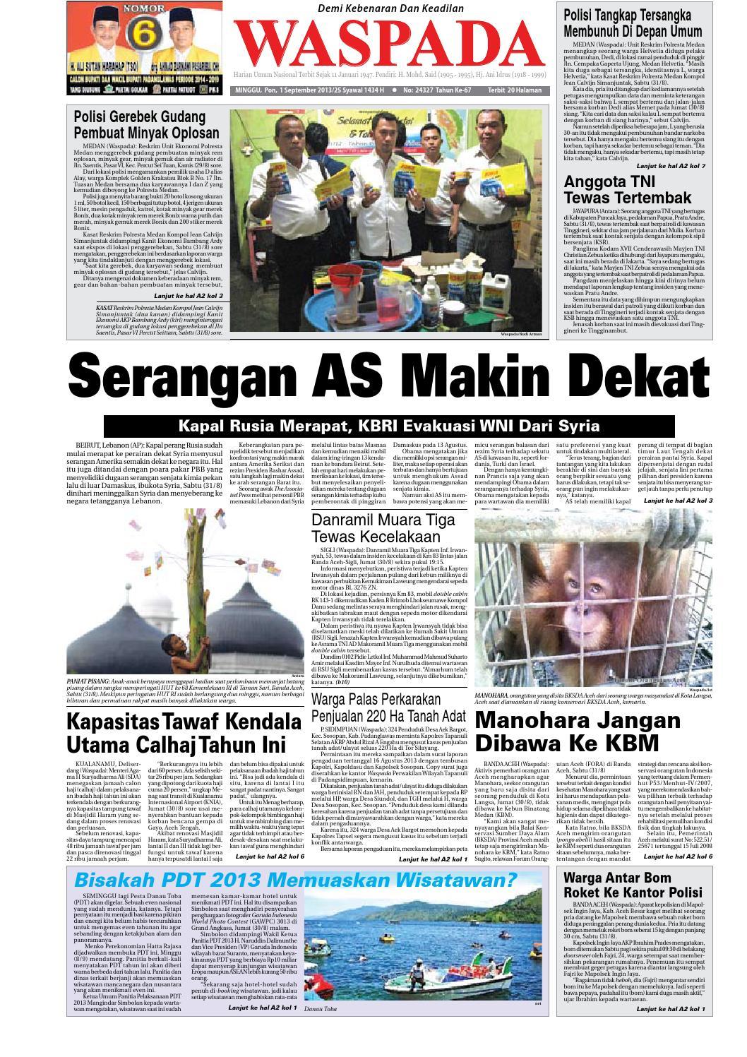 Waspada Minggu 19 Mei 2013 By Harian Issuu Krezi Kamis 25  Karpet Pp Rug 100x150 Ter Free Ongkir 1 September