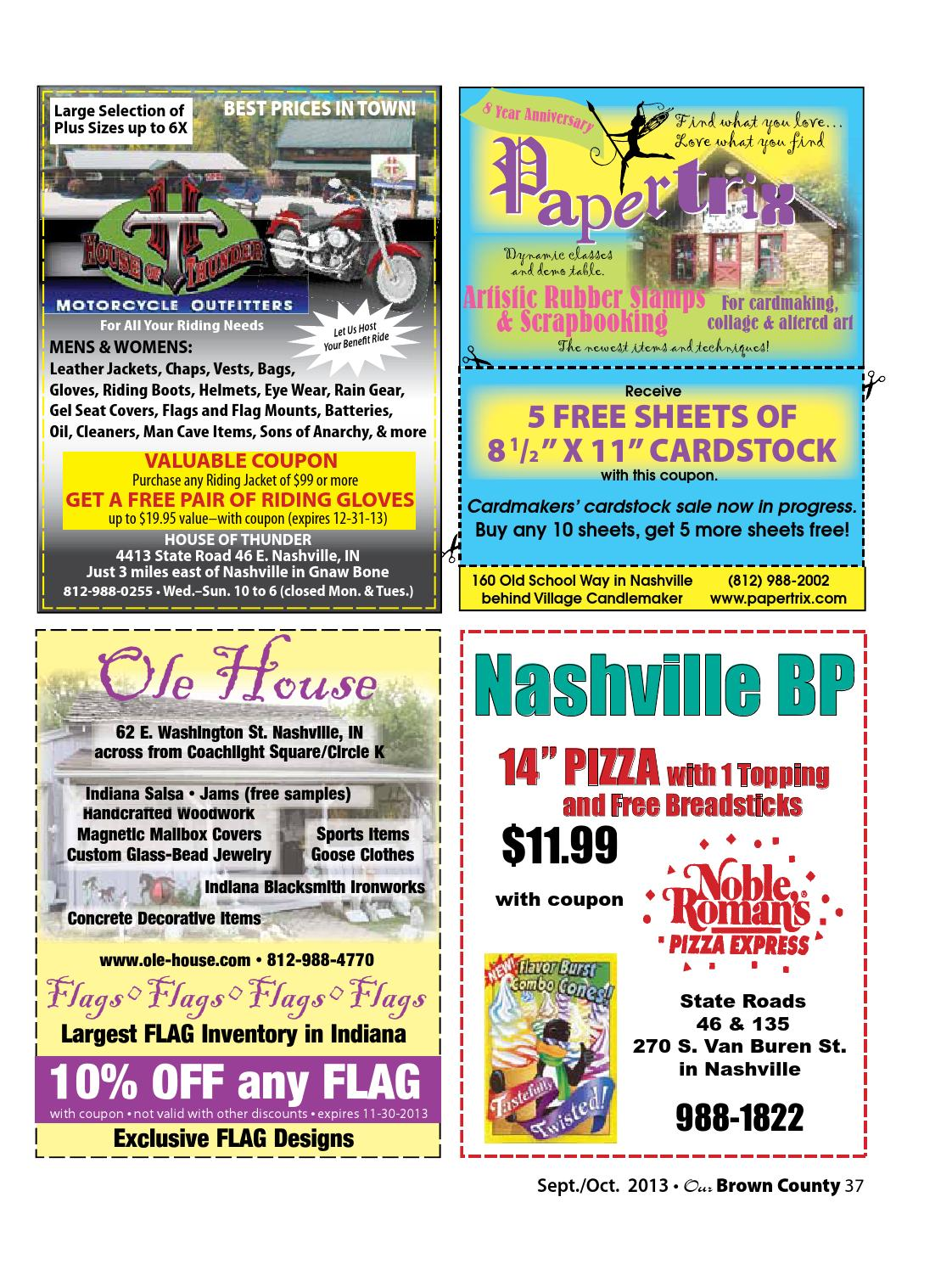 Sept/Oct 2013 OUR BROWN COUNTY magazine by Our Brown County