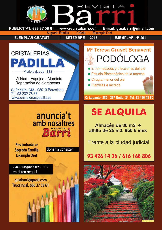 Nº 290 Revista Barri Septiembre 2013 Sagrada Familia by Revista ...