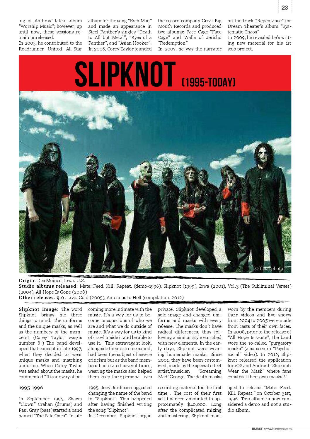 Burst Magazine, Issue 9, September 2013 by BURST Magazine