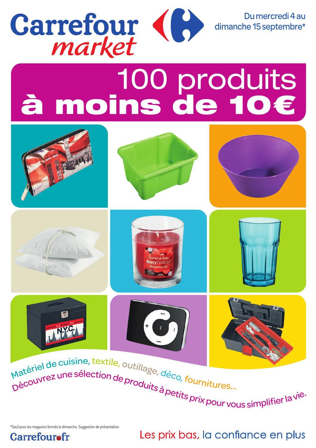 Catalogue Carrefour Market 4 15 09 2013 By Joe Monroe Issuu