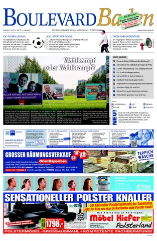 Boulevard Baden Ausgabe Ettlingen Kw 36 2013 By Roser Media Issuu
