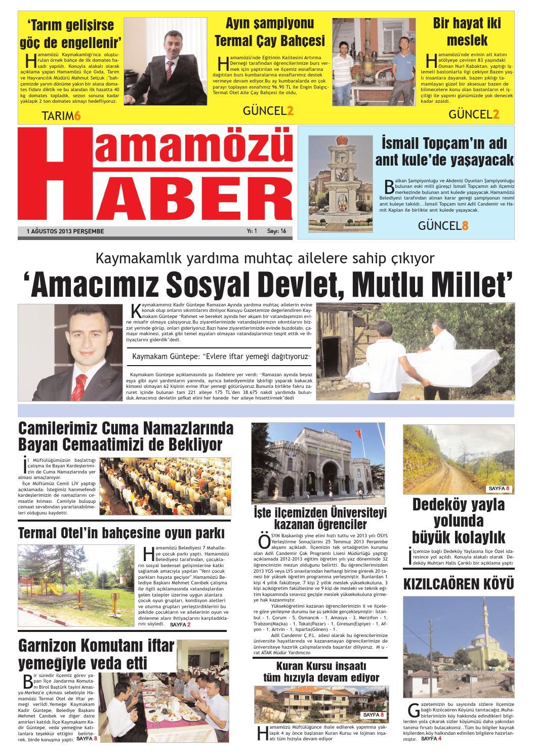 Gazete 16 1 By Halil Kartal Issuu