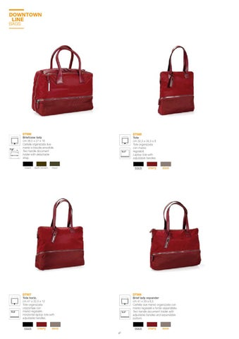 581fc719d6 Bags & Accessories 2014 by NAVA - issuu