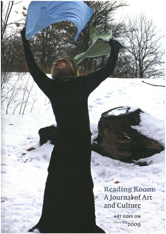 Reading Room Issue 3 2009 By Auckland Art Gallery Issuu