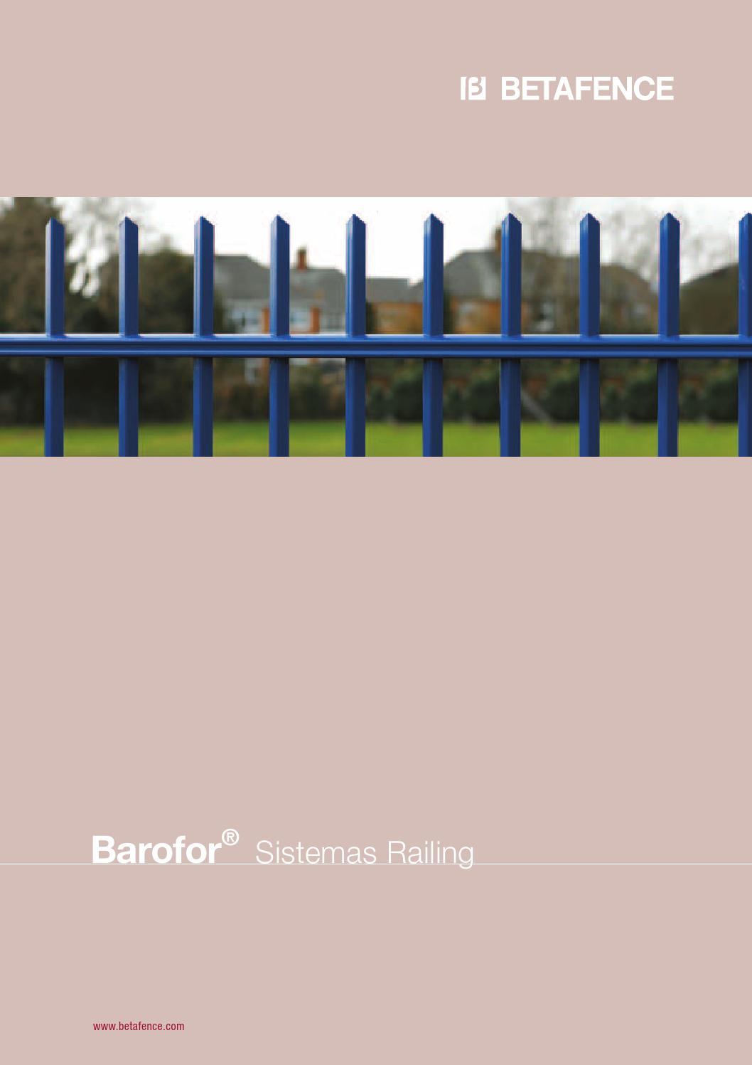 barofor es 2012 by betafence corporate services nv issuu. Black Bedroom Furniture Sets. Home Design Ideas