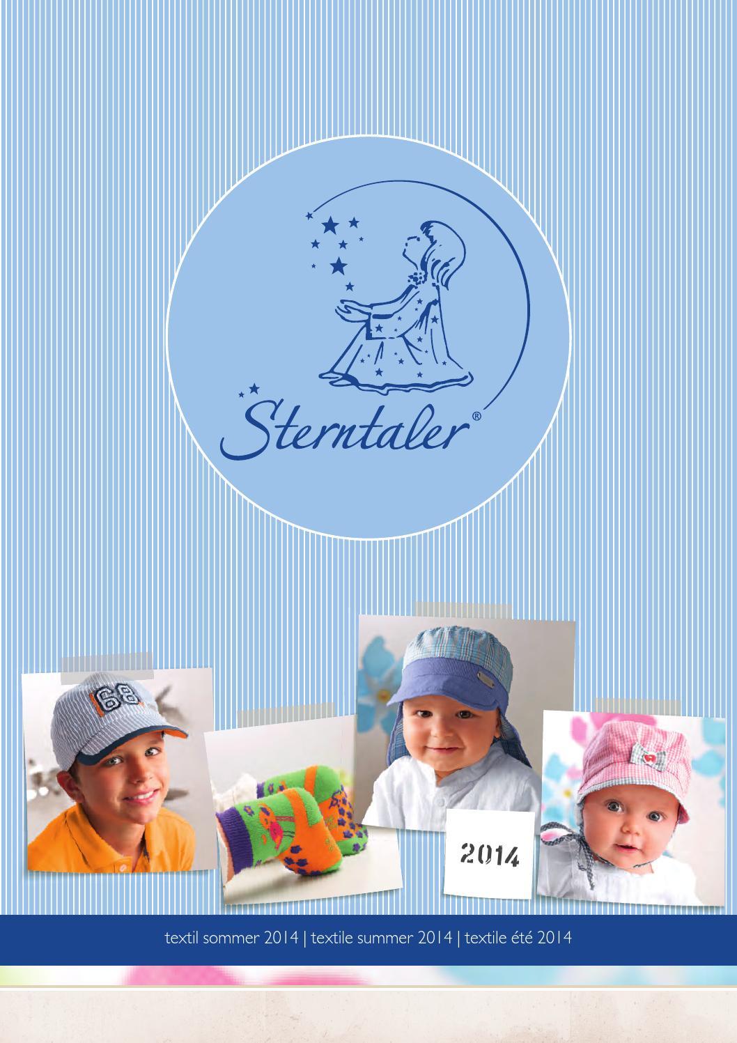 K68 SOMMER Mini Mädchen Hut Mütze STERNTALER 1411405