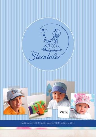 SOMMER Mini Mädchen Hut mit Nackenschutz Mütze STERNTALER 1411412 K82a