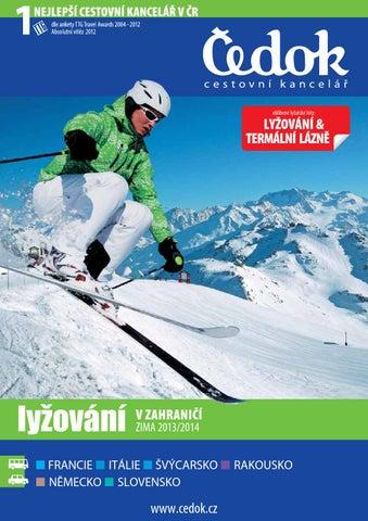 Lyžování v zahraničí - zima 2013 2014 by CK Čedok a.s. - issuu 788909d227