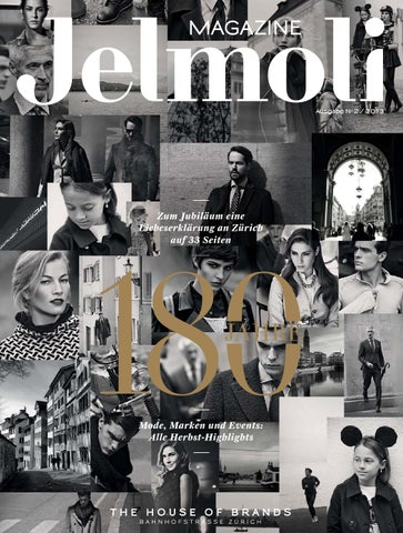Jelmoli Magazine JubiläumHerbst 2013 by Jelmoli The House